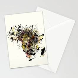 The last leopard Stationery Cards