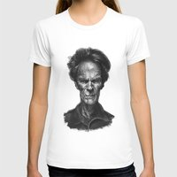 clint eastwood T-shirts featuring Clint Eastwood by Thomas Bryant