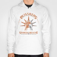 discount Hoodies featuring Snake Plissken's Search & Rescue Pty. Ltd. by 6amcrisis