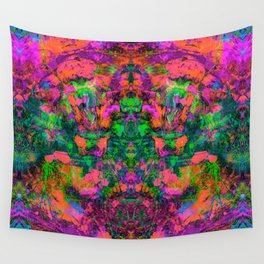 Nausea 1969 IV (Ultraviolet) Wall Tapestry