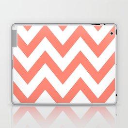 CORAL CHEVRON Laptop & iPad Skin