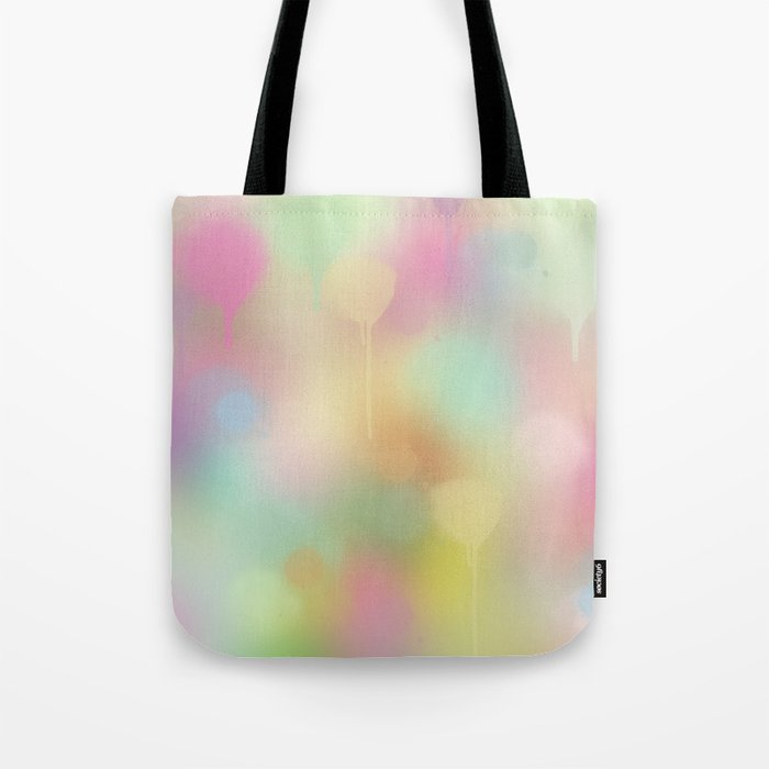 Soft pastel watercolour abstract Tote Bag