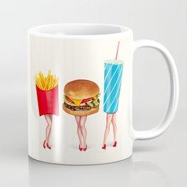 Combo Meal Pin-Ups Coffee Mug