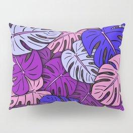 Monstera Leaves #4 Pillow Sham