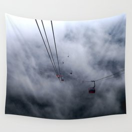 Direct access to outer space? Wall Tapestry