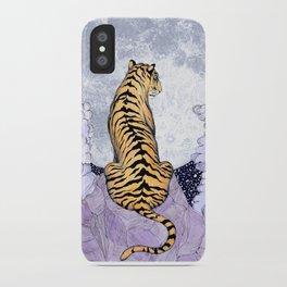 Tiger Moon | Colour Version iPhone Case