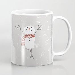 Snowman yoga - the tree Coffee Mug