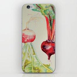 the turnip and the beet iPhone Skin