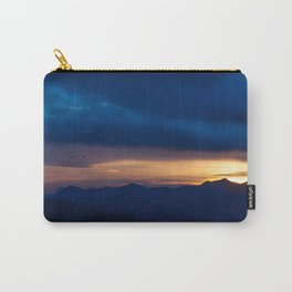 Blue Sunset Carry-All Pouch