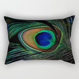 peacock eye Rectangular Pillow