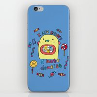 dentist iPhone & iPod Skins featuring I hate dentist by PINT GRAPHICS