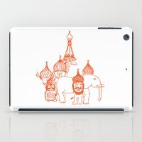 moscow iPad Cases featuring Moscow by OneOneTwo