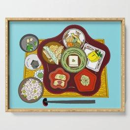 Japanese Veggie Platter Serving Tray