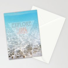 Tropical Exploration  Stationery Cards