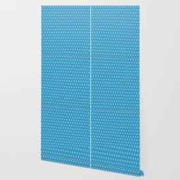 Lance Bright Blue Wallpaper
