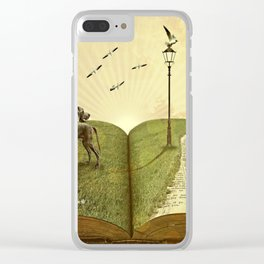 story Clear iPhone Case