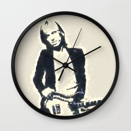 Tom Petty Wall Clock