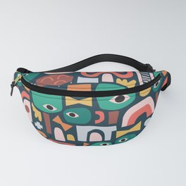 Abstract Playground Fanny Pack