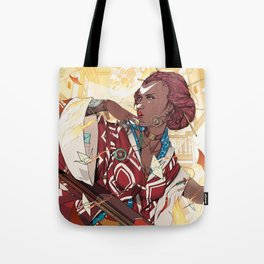 The Art House of Cranes Tote Bag