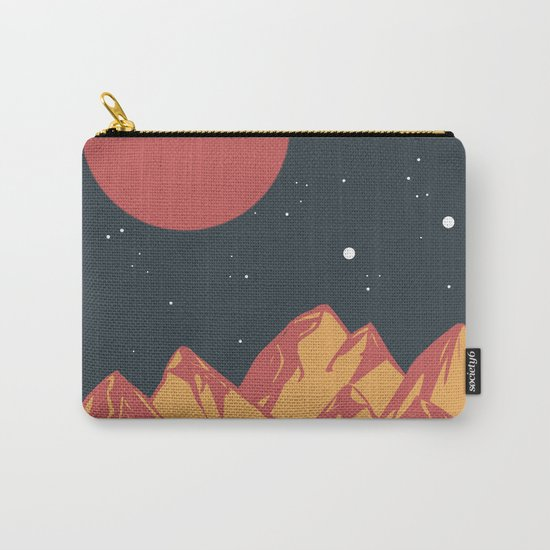 galactic mountains Carry-All Pouch