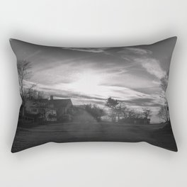 Streamers in the sky Rectangular Pillow