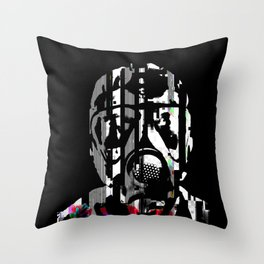 fumes of decay Throw Pillow