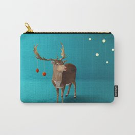 Low Poly Reindeer Carry-All Pouch