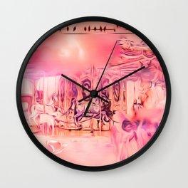 Paradise Pastel Wall Clock