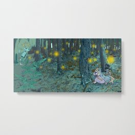 The Mouse Queen's Bargain Metal Print
