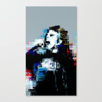 wasted rita Canvas Prints featuring Wasted by magnojam