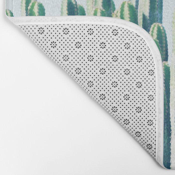 Cactus V2 #society6 #decor #fashion #tech #designerwear Bath Mat