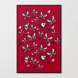 Butterflies in Flight 2 Canvas Print