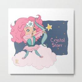 Crystal Starr Metal Print