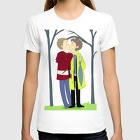 destiel T-shirts featuring kissukissu by oh, wolves