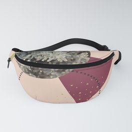 Golden Snow #society6 #decor #pink Fanny Pack