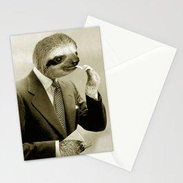Gentleman Sloth 9# Stationery Cards