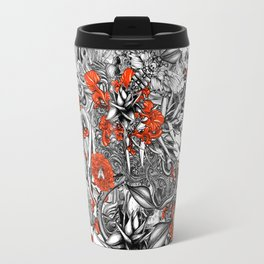 Sixth Mix Black Travel Mug