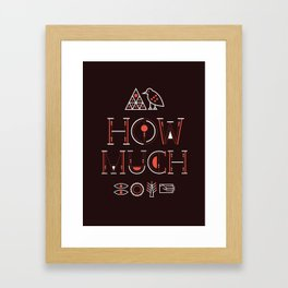 CS Zero Framed Art Print