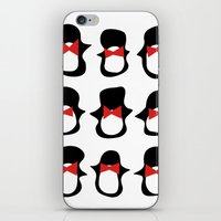 penguins iPhone & iPod Skins featuring Penguins by Flash Goat Industries