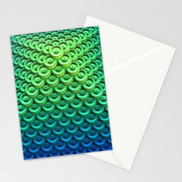Button Pyramid Stationery Cards