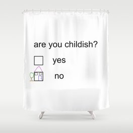 Litmus Shower Curtain