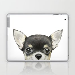 Chihuahua mix color Dog illustration original painting print Laptop & iPad Skin