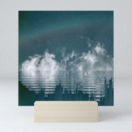 Icing Clouds Mini Art Print