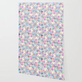 Colorful geometric patterns II Wallpaper
