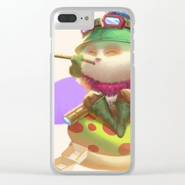 Teemo Clear iPhone Case
