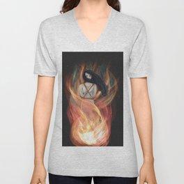Burn The Witch Unisex V-Neck