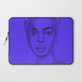 Joan in purple Laptop Sleeve