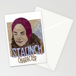 Staunch Character Stationery Cards