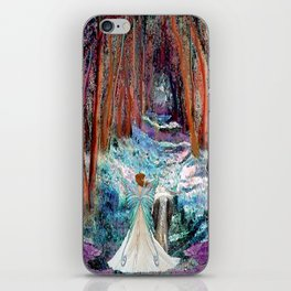 Fairy and Unicorn, Fantasy Forest iPhone Skin