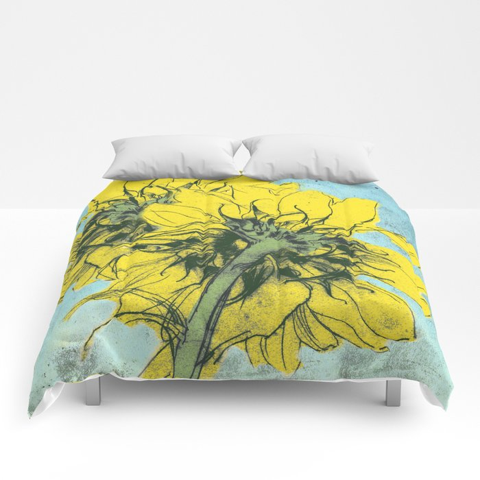 The sunflowers moment Comforters